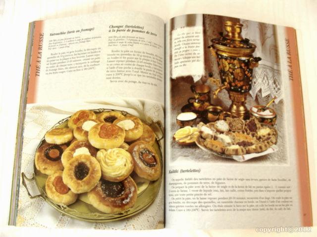 Livre cuisine russe en fran ais t0181 artisanat for Cuisine russe