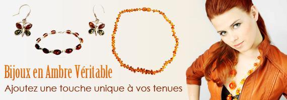 bijoux en ambre véritable